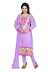 Parinaaz fashion Cotton Top Straight Unstiched Dress Material.