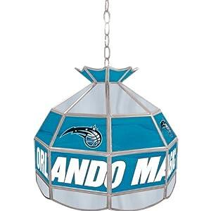 Orlando Magic NBA 16 inch Tiffany Style Lamp Orlando Magic NBA 16 inch Tiffany Style... by Trademark Global