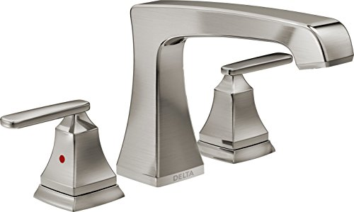 Delta Faucet T2764-SS Ashlyn Roman Tub Trim, Stainless (Faucet Roman Tub compare prices)
