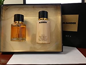 Jil Sander No.4 by Jil Sander for Women - 2 Pc Gift Set 3.4oz edp spray,6.7oz moisturizing body balm