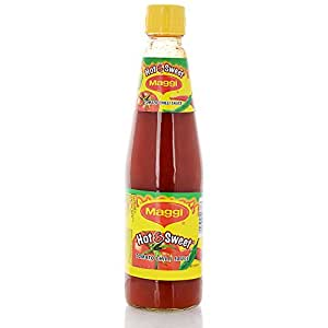 Maggi Hot and Sweet Tomato Chilli Sauce , 500g
