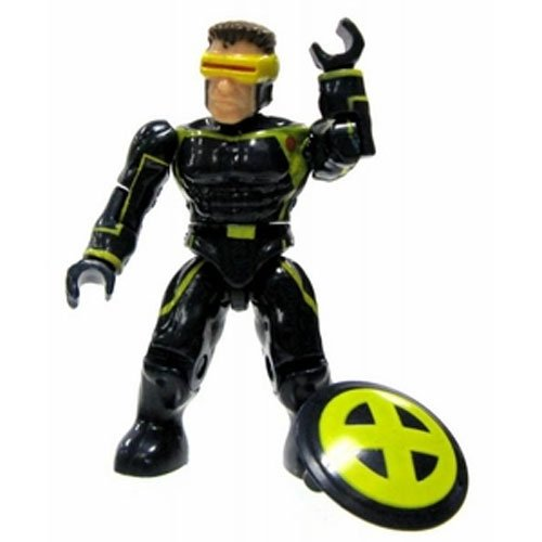 Marvel Mega Bloks LOOSE Series 3 Mini Figure Rare Cyclops - 1
