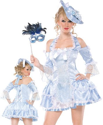Deluxe Sexy Marie Antoinette Costume - Womens Md/Lg 12-14