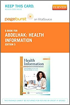 Health Information Elsevier Ebook On Vitalsource Retail