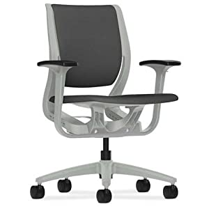 Amazon.com - HON Purpose Platinum Shell Mid-Back Chair with