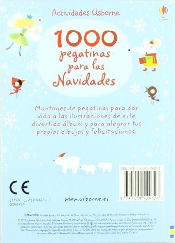 1000 pegatinas para las Navidades