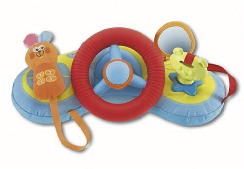 Chicco 13cm Baby Taxi Nursery Toy
