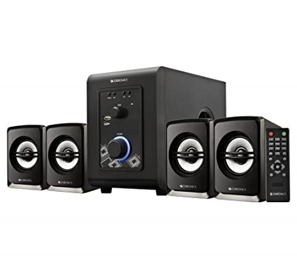 Zebronics SW402RUF 4.1 Multimedia Speakers