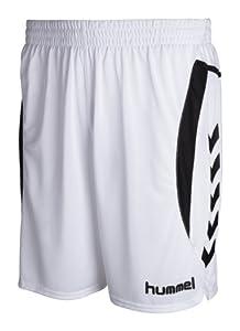 Hummel Short Team Player Blanc Blanc Small