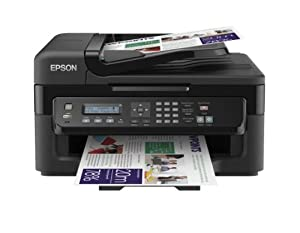 Epson WorkForce WF-2530WF Ultra compact and reliable 4-in-1 for the small office printer with Wifi and AirPrint