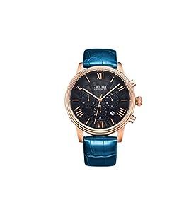 JEDIR ML2012GBE-1NO Fashion Design Quartz waterproof Watch with Leather Watchband.