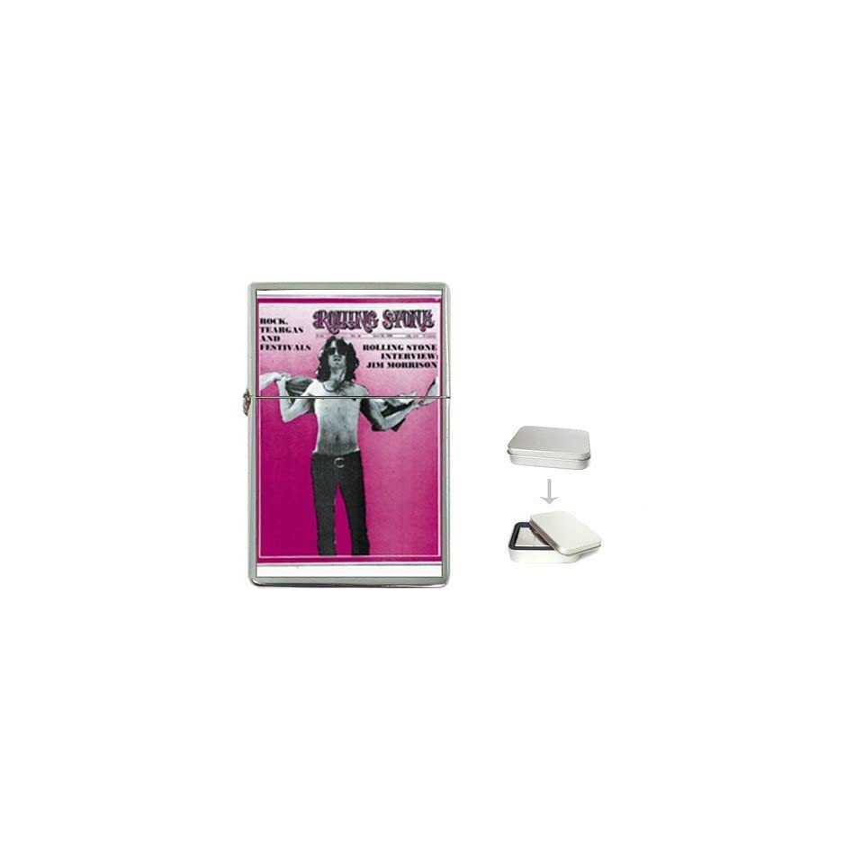 Jim Morrison Rolling Stone Cover 1969 Flip Top Lighter