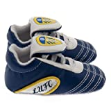 Leeds United F.C. Crib Shoe 3/6. A perfect product/gift to show support for the team you love. Also availible in other clubs.
