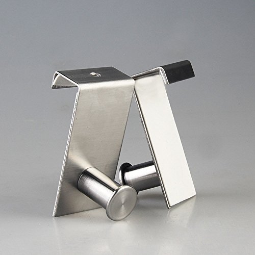 Decor Nova DA02 Stainless Steel Over the Cabinet/ Drawer Door Hook ...
