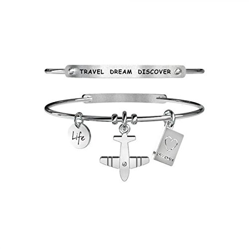 kidult-life-collection-armband-in-stahl-flugzeug-231641-travel-dream-discover