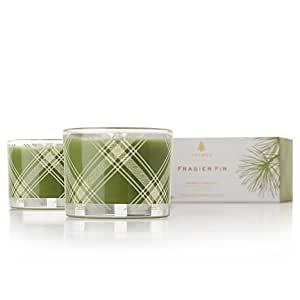 Thymes Aromatic Candles, Set of 2, Frasier Fir