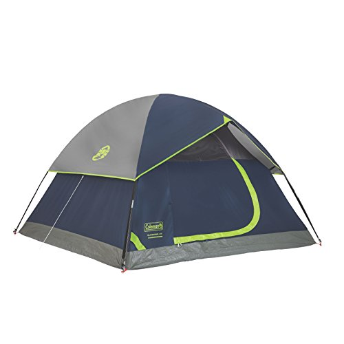 Coleman Sundome 4-Person Dome Tent, Navy/Grey (4 Person Backpacking Tent compare prices)