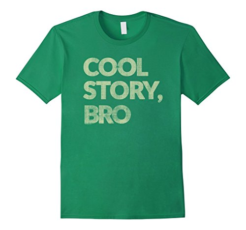 Men's Ripple Junction Cool Story Bro 3XL Kelly Green (Cool Story Bro T Shirt compare prices)