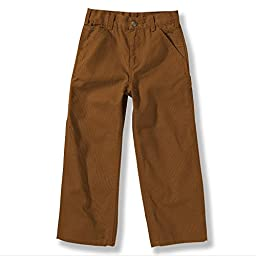 Carhartt Baby-Boys Infant Canvas Dungaree-Inf Tod, Brown, 6 Months