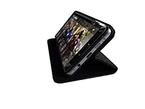 ATV Perfect Fitting Genuine Leather Black Book Case pouch Cover With Built In Stand For Samsung I9300 Galaxy S III