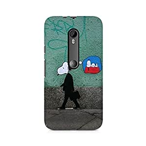 Mobicture Abstract Texture Premium Printed Case For Lenovo A2010