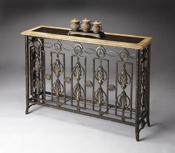 ... Wrought Iron Buffet Table By Wrought Iron Console Tables ...