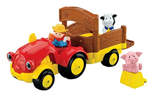 Fisher-Price Baby Little People Tow 'n Pull Tractor (Fisher Price Push And Pull compare prices)