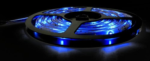 Waterproof 5 Meter Long RGB SMD3528 Flexible LED Strip + 24-Key IR + 12V Power Supply - Father's Day Offer