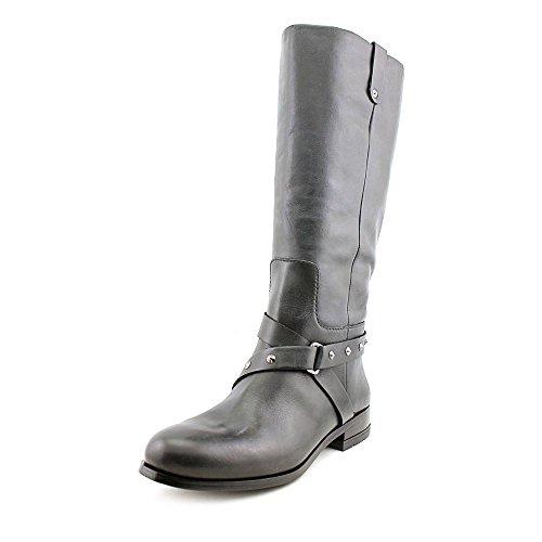 Zoe + Luca Lauren Womens Size 9 Black Leather Fashion Mid-Calf Boots