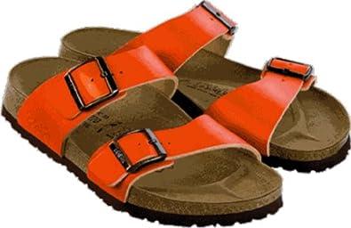 Birki ''Skorpios'' from Leather in orange 35.0 EU N
