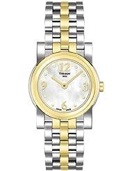 Tissot Women's T0300092211700 Classi-T Goldtone Stainless-Steel Swiss Quartz Watch