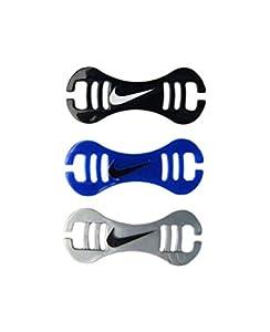 Nike Swimming Goggle Strap Clips - Black, Silver, Blue