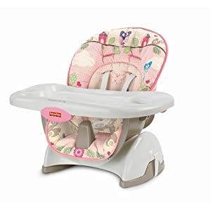 fisher price girls space saver high chair baby