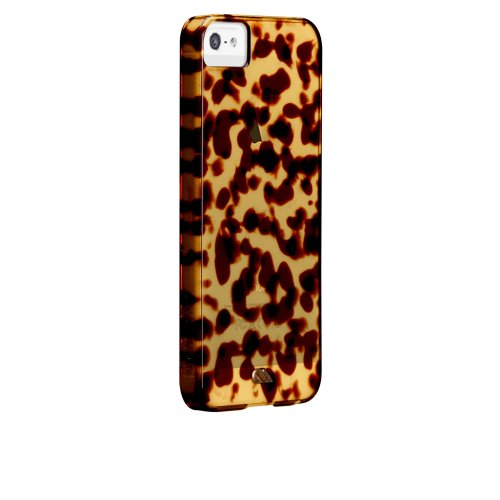 Case Mate Case-Mate iPhone 5 Tortoise shell - Brown - MTLP - Carrying Case - Retail Packaging - Brown