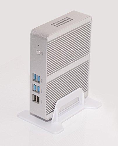 Fanless Thin Client Media Player With Intel Celeron N3150 Quad Core Processor 1080P HDMI VGA DC 12V 8G RAM 128G...