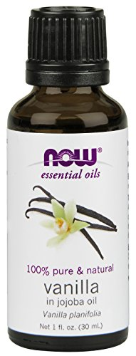 NOW Foods Natural Vanilla (In Jojoba Oil), 1 ounce