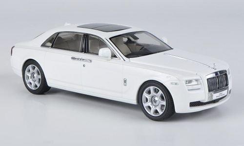 Rolls Royce Ghost EWB, weiss, LHD , Modellauto, Fertigmodell, Kyosho 1:43