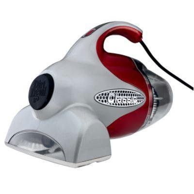 New Dirt Devil Classic Hand Vacuum Powerful Motorized Brush Easy-To-Empty Bagless Dirt Cup