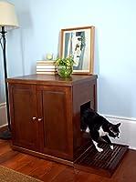 The Refined Feline RLB-MA Wood Cat Litter Box