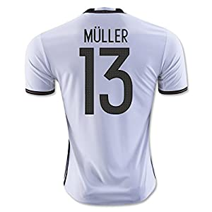 2016-2017 Germany Home Shirt (Muller 13)