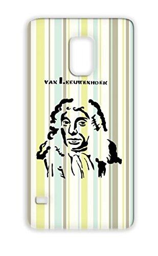 Biologist Art Design Van Leeuwenhoek Scientist Miscellaneous Stencil Dutch Microscope Antonie Leeuwenhoek Cover Case For Sumsang Galaxy S5 Black