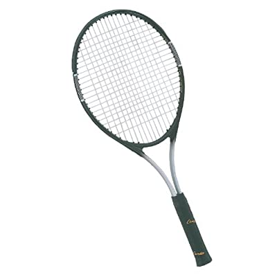 Champion Sports 27-Inch Titanium Tennis Racquet, Oversize Head/Black