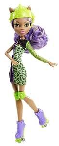 """Mattel Monster High Skultimate Roller Maze Doll 12"""" Clawdeen Wolf"""