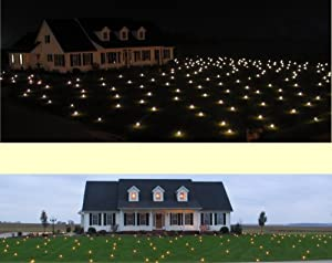 Lawn Lights Illuminated Outdoor Decoration, LED, Warm White