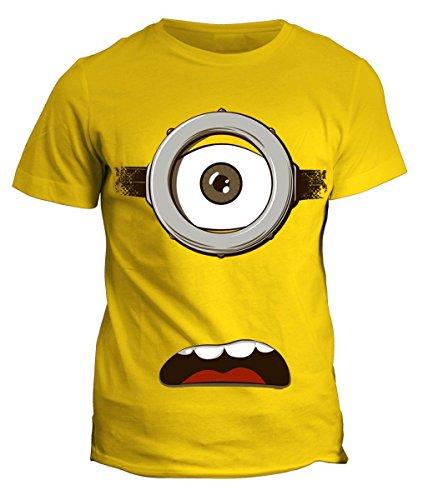 Tshirt minion - occhione - spavento -cartoon cartoni humor simpatica minions maglietta disponibile uomo donna bimbo