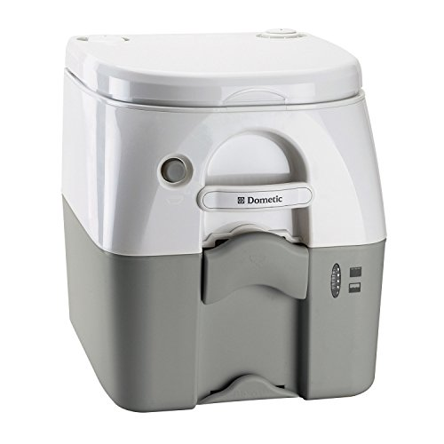 Dometic 301097606 Portable Toilet 5.0 Gallon, Gray (Dometic Plastic Toilet Seat compare prices)