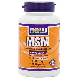 MSM 1000mg 120粒 海外直送品