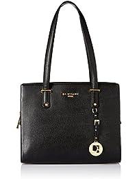 Da Milano Women's Handbag (Black) (Lb-3854Blacksaffiano)