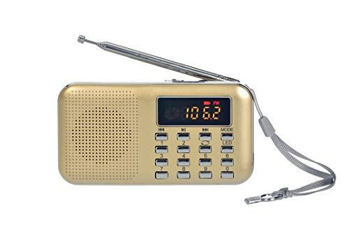 Timorn Fashion Stereo Sound FM Radio Suitable for mobile phone/MP3/MP4/PC/computer (Red)