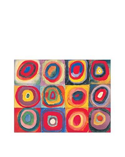 ArtopWeb Panel Decorativo Kandinsky Studio Del Colore 60x80 cm